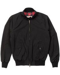 Baracuta - G9 Classic Harrington Jacket Black - Lyst