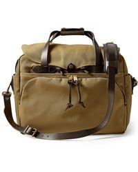 Filson Padded Computer Bag Tan - Brown