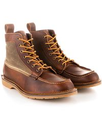 4919bb263a4 Red Wing 3343d Blacksmith Copper Rough & Tough in Red for Men - Lyst