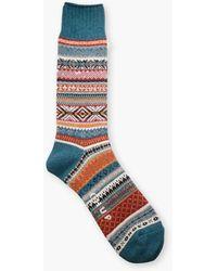 Chup Aistear Socks Teal - Blue