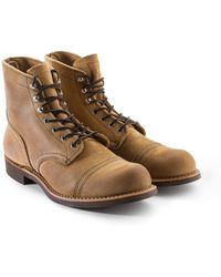 Red Wing 8083d Iron Ranger Hawthorne Muleskinner - Natural