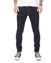 Nudie Jeans - Nudie Jeans Skinny Lin Dry Deep Orange - Lyst