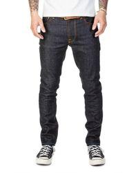 Nudie Jeans - Nudie Jeans Lean Dean Dry Aquamarine - Lyst