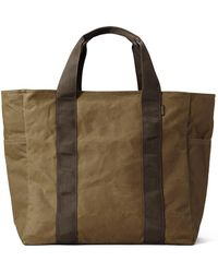 Filson Grab 'n' Go Field Tote Bag Dark Tan/brown