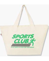 Sporty & Rich Sports Club Tote Natural - Multicolour