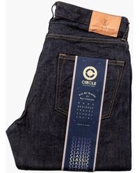 Japan Blue Jeans J405 Circle Classic Straight Stretch Selvedge 12.5oz - Blue