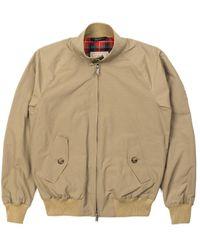Baracuta G9 Classic Harrington Jacket Tan - Natural