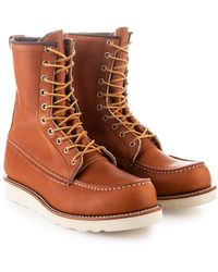 """Red Wing 877d Moc Toe 8"""" Oro-legacy - Brown"""