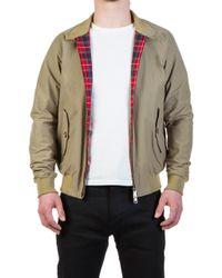 Baracuta - G9 Modern Classic Harrington Jacket Tan - Lyst
