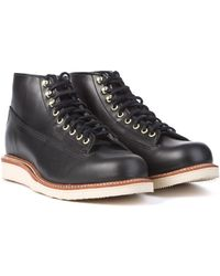 """Chippewa Boots - Chippewa 1958 5"""" Original Lace-to-toe Boot Black - Lyst"""
