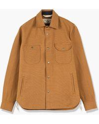 Rogue Territory Service Shirt Copper Canvas Selvedge 15oz - Brown