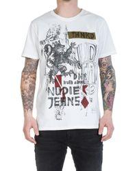 Nudie Jeans - Nudie Jeans Anders Royal Offwhite - Lyst