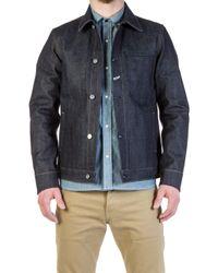 Rogue Territory Supply Jacket Indigo 15oz - Blue