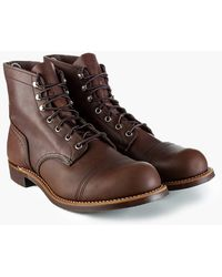Red Wing 8111d Iron Ranger Amber Harness - Brown