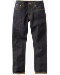 Nudie Jeans Grim Tim Dry Selvage 13.5oz - Blue