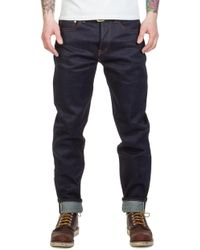 The Unbranded Brand - Unbranded Ub621 Relaxed Tapered Fit Indigo Selvedge 21oz - Lyst
