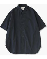 Studio Nicholson Sorono Shirt Dark Navy - Blue