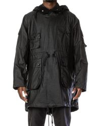 Barbour - X Engineered Garments Cowen Wax Black - Lyst