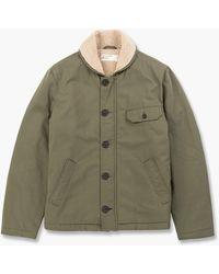 Universal Works N1 Twill Jacket Light Olive - Green