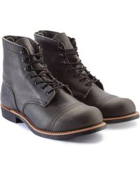 Red Wing - 8086d Iron Ranger Charcoal Rough & Tough - Lyst