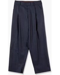 Kolor 21wcm-p12111c Pants C-navy Blue