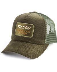 Filson - Alcan Cord Mesh Cap Moss - Lyst