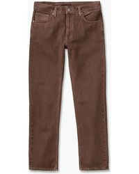 Nudie Jeans - Gritty Jackson Washed Brown - Lyst