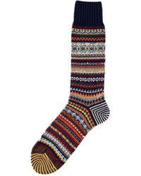 Chup Sein Sock Berry - Multicolour