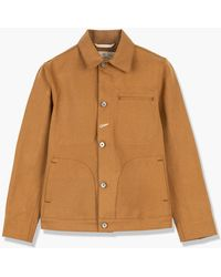 Rogue Territory Supply Jacket Copper Canvas Selvedge - Multicolour