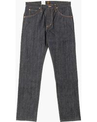 Lee Jeans 101 Z Jeans Dry Indigo Selvage 13.75oz - Blue