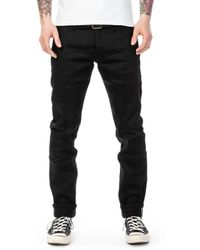 The Unbranded Brand Ub444 Tight Fit Black Stretch Selvedge 11oz