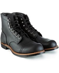Red Wing 8084d Iron Ranger Black Harness