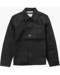 Rogue Territory Supply Jacket Stealth Black Selvedge 15oz