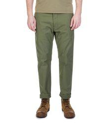 Nudie Jeans - Nudie Jeans Regular Anton Army Sateen Selvage - Lyst