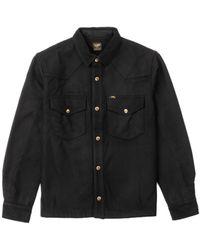Lee Jeans Wool Overshirt Black