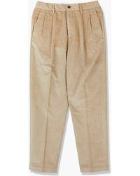 Cellar Door Modlu Pants Corduroy Beige - Grey