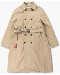 Martine Rose Murray Trench Coat Taupe - Natural