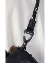 F/CE X-pac Drawstring Shoulder Bag Black