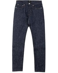 A.P.C. Petit New Standard Indigo Red Selvage 14.5oz - Blue