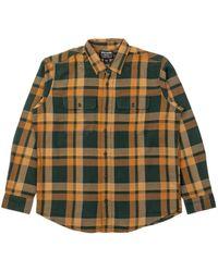 Filson Scout Shirt Green/gold Plaid