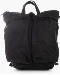 F/CE Recycle Twill 3way Helmet Bag Black