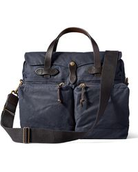 Filson - 24-hour Tin Briefcase Navy - Lyst