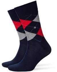 Burlington - King Socks Marine - Lyst