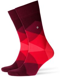 Burlington - Clyde Socks Red - Lyst