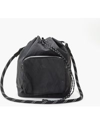 F/CE - X-pac Drawstring Shoulder Bag Black - Lyst