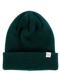 Norse Projects - Lambswool Beanie Quartz Green - Lyst