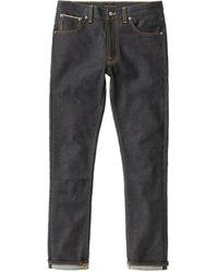 Nudie Jeans Nudie Jeans Lean Dean Dry Japan Selvage 13.5oz - Blue