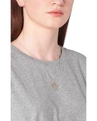 A.P.C. Necklace Eloi Brass - Grey