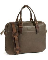 Bleu De Chauffe - Business Bag Folder Smog - Lyst
