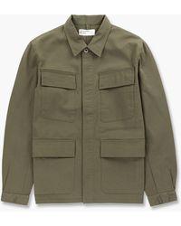 Universal Works Fatigue Jacket Light Olive - Green